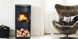 Why should you install a wood-burning stove in March?
