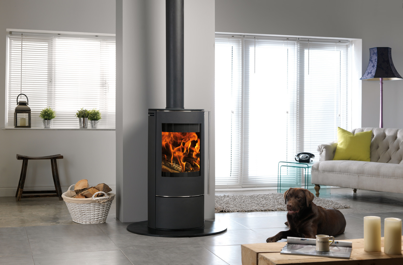 Solis wood burning stove